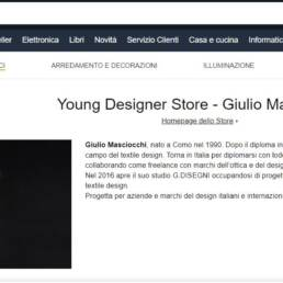 young designer store amazon